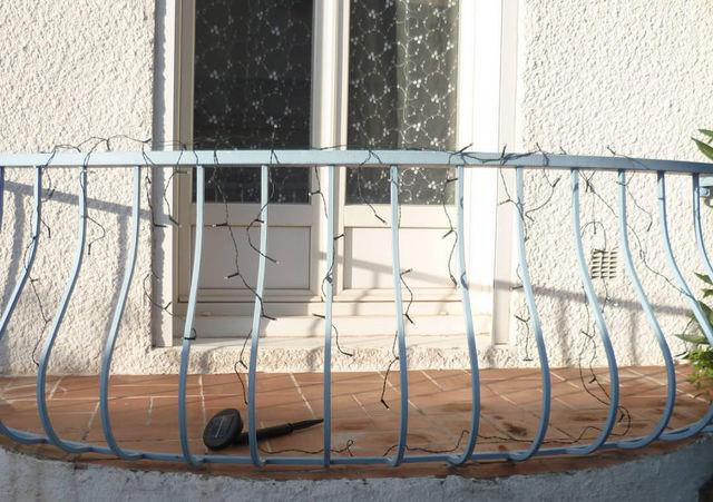 FEERIE SOLAIRE - Guirlande lumineuse-FEERIE SOLAIRE-Guirlande solaire rideau 80 leds bleues 3m80