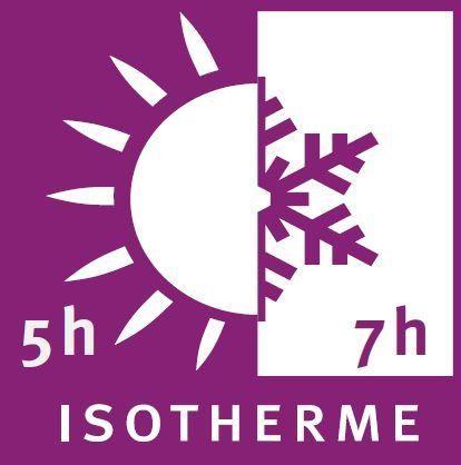 QWETCH - Pichet isotherme-QWETCH-Bouteille nomade isotherme en acier 300ml avec hou