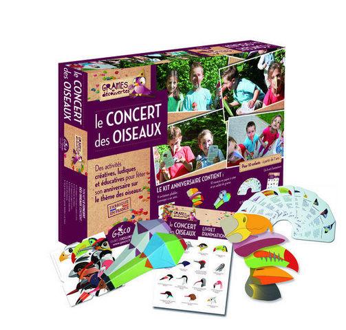 GASCO - Jeux éducatifs-GASCO-Le concert des oiseaux