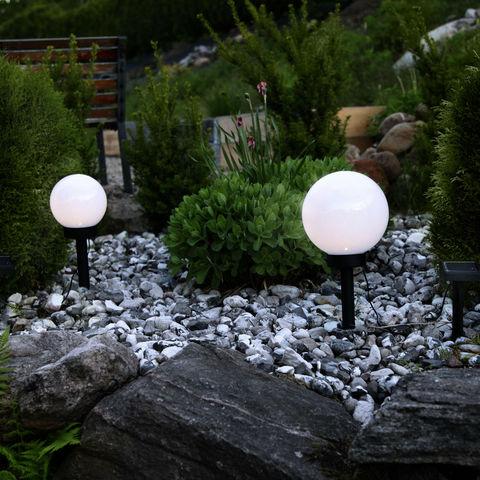 Best Season - Lampe solaire-Best Season-GLOBE LIGHT - Boule lumineuse extérieur Solaire LE