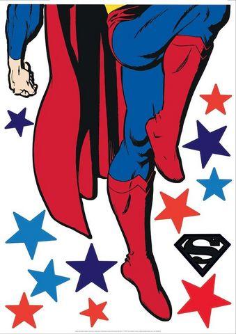 Nouvelles Images - Sticker Décor adhésif Enfant-Nouvelles Images-Sticker mural Superman