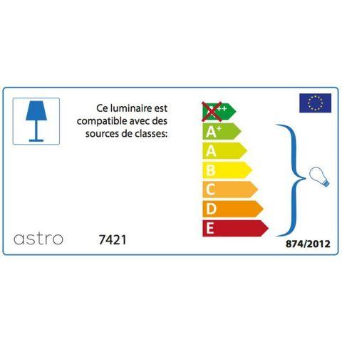 ASTRO - Plafonnier de salle de bains-ASTRO-Plafonnier Mashiko Rond 400 IP44