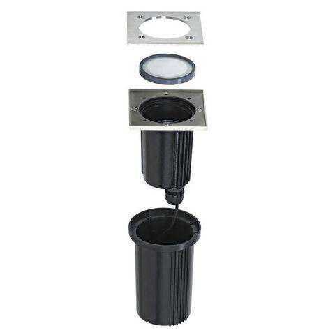 SLV - Spot encastré de sol-SLV-Luminaire extérieur encastrable Dasar Inox 316 IP6