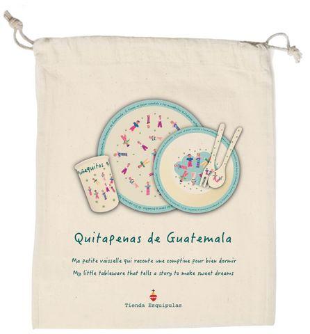 TIENDA ESQUIPULAS - Coffret vaisselle enfant-TIENDA ESQUIPULAS-Poupées tracas