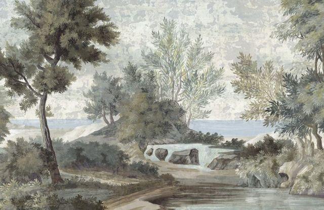 Ananbô - Papier peint panoramique-Ananbô-Le chemin des Demoiselles