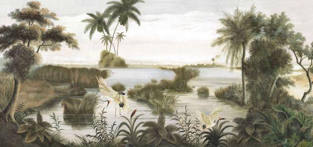 Ananbô - Papier peint panoramique-Ananbô-Les rives du Mékong