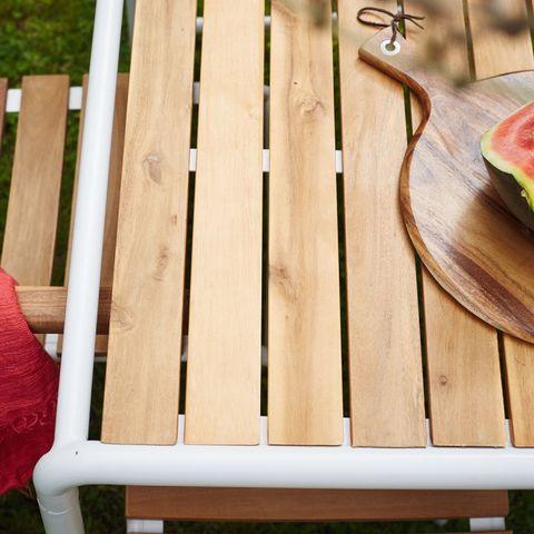BOIS DESSUS BOIS DESSOUS - Salle à manger de jardin-BOIS DESSUS BOIS DESSOUS-Salon de jardin en bois et métal FSC