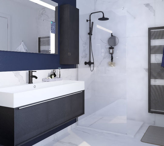 Leroy Merlin - Meuble de salle de bains-Leroy Merlin-Design Neo