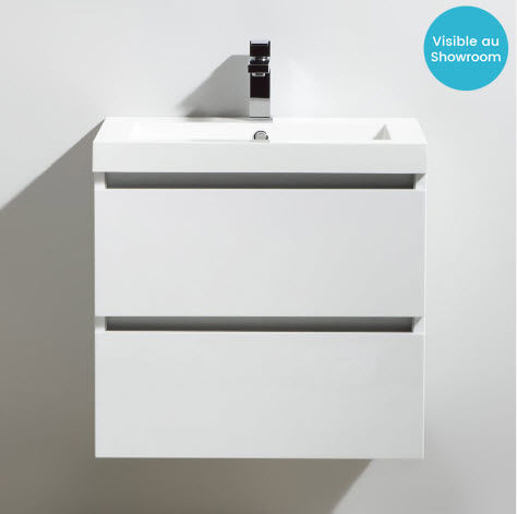 Thalassor - Meuble vasque-Thalassor-City 60 Bianco