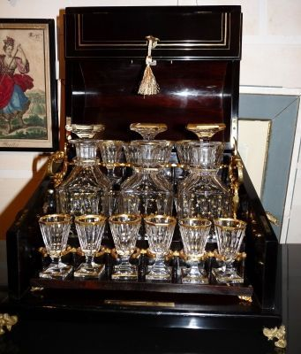 Art & Antiques - Cave � liqueur-Art & Antiques-Cave � liqueur Napol�on III � caisson