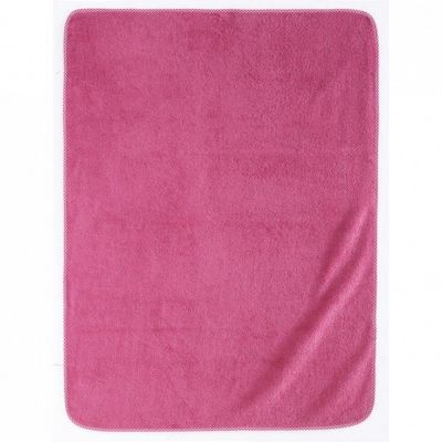 Essix home collection - Serviette de toilette enfant-Essix home collection-Serviette de bain Elliot et Manon - Cyclamen - 75x