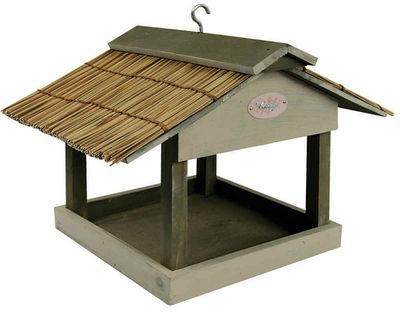 ZOLUX - Maison d'oiseau-ZOLUX-Mangeoire pour oiseaux cottage en bois et paille d