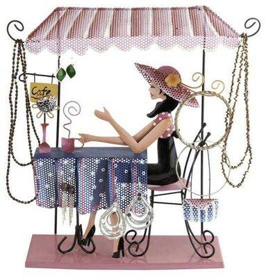 Balvi - Porte-bijoux-Balvi-Porte bijoux coffee girl en métal