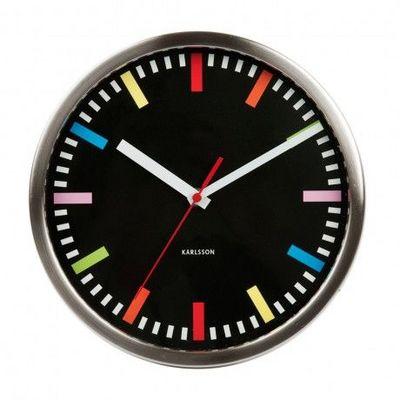 Karlsson Clocks - Horloge murale-Karlsson Clocks-Karlsson - Horloge Rainbow - Karlsson -
