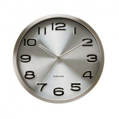 Karlsson Clocks - Horloge murale-Karlsson Clocks-Karlsson - Horloge Maxy - Karlsson - Gris