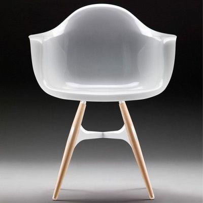 Sodezign - Fauteuil-Sodezign-Chaise Fa avec Accoudoirs Design en Polycarbonate
