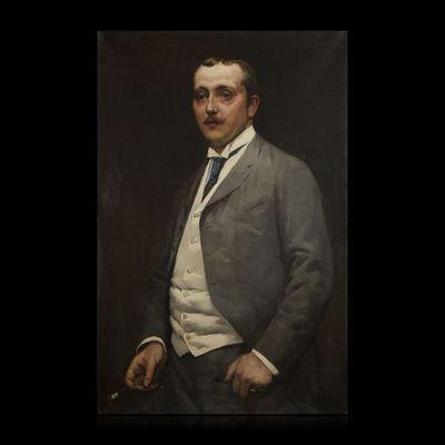 Expertissim - Portrait-Expertissim-Marc Marie BONHOMME de LAJAUMONT. Portrait d'homm