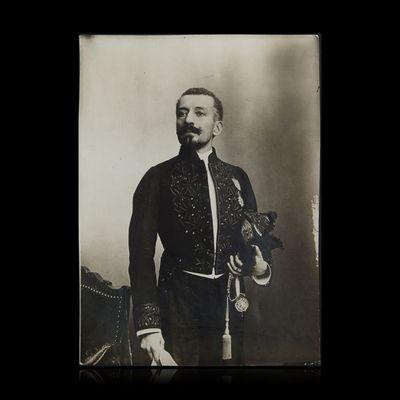 Expertissim - Photographie-Expertissim-LOTI Pierre (1850-1923) le jour de sa réception à