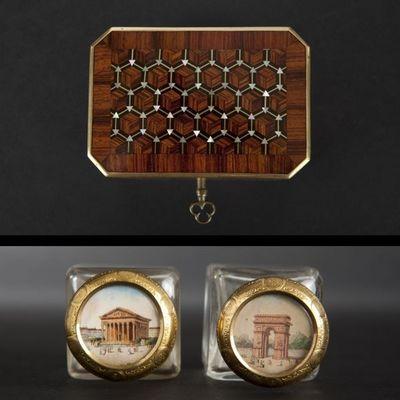 Expertissim - Coffret à parfum-Expertissim-Petit coffret à parfums d'époque Napoléon III