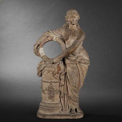 Expertissim - Sculpture-Expertissim-Statuette en terre cuite du XIXe siècle