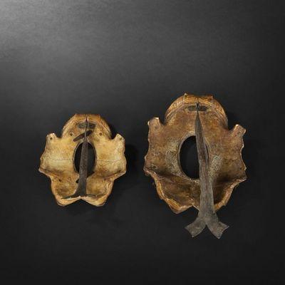 Expertissim - Cadre-Expertissim-Deux cadres en plastron de tortue, fin XIXe siècle
