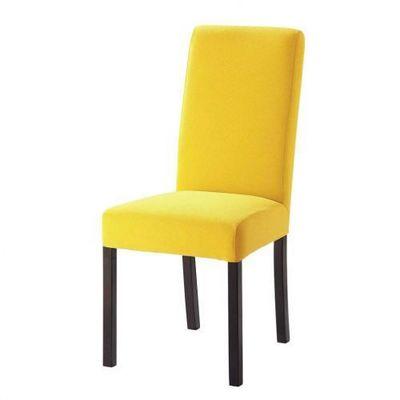 Maisons du monde - Housse de chaise-Maisons du monde-Housse jaune Margaux