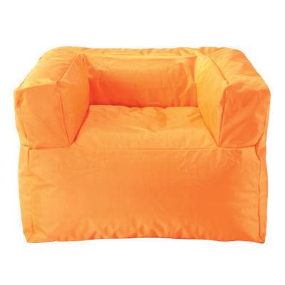 Maisons du monde - Fauteuil-Maisons du monde-Fauteuil orange Papagayo
