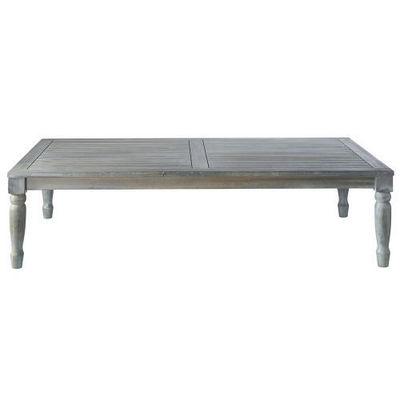 Maisons du monde - Table basse rectangulaire-Maisons du monde-Table basse grise Chypre