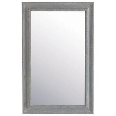 Maisons du monde - Miroir-Maisons du monde-Miroir Léonore gris 90x140