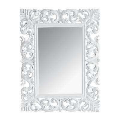 Maisons du monde - Miroir-Maisons du monde-Miroir Rivoli blanc 90x7