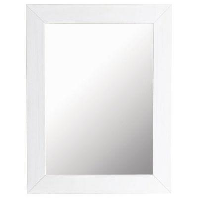Maisons du monde - Miroir-Maisons du monde-Miroir Natura blanc 70x90