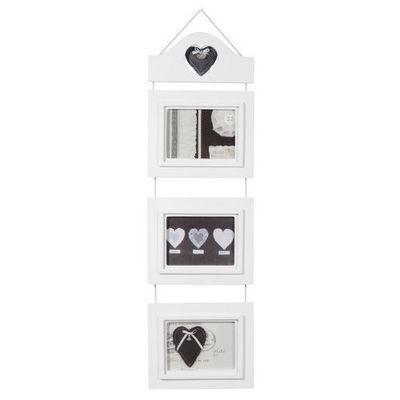 Maisons du monde - Cadre multi-vues-Maisons du monde-Cadre triple coeur Demeure