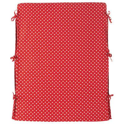 Maisons du monde - Housse de dosseret-Maisons du monde-Housse tête de lit rouge à pois blancs Dream