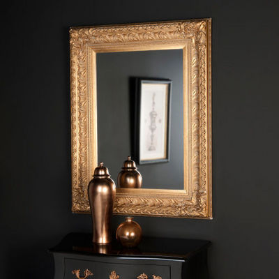 Maisons du monde - Miroir-Maisons du monde-Miroir Marquise or 95x125