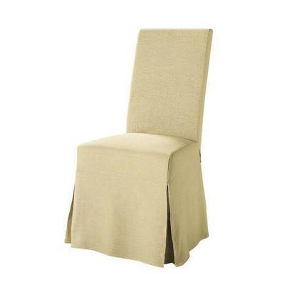 Maisons du monde - Housse de chaise-Maisons du monde-Housse lin Margaux