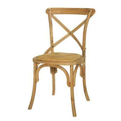 Maisons du monde - Chaise-Maisons du monde-Chaise chêne Tradition