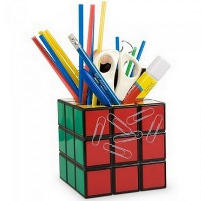 Manta Design - Pot � crayons-Manta Design-Pot � crayons Rubik Cube