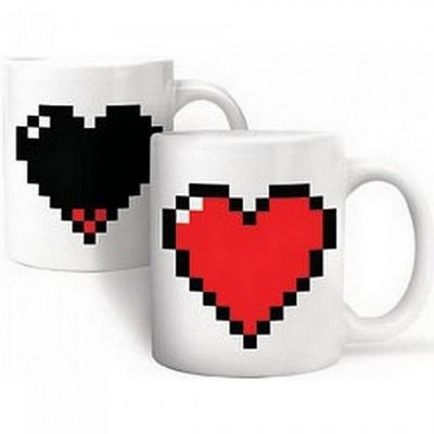 Manta Design - Mug-Manta Design-Mug design Burning heart