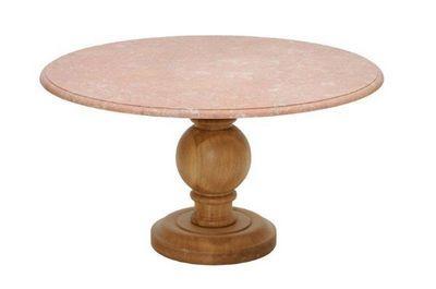 Marbrerie Rouillon - Table de repas ronde-Marbrerie Rouillon-BAROQUE