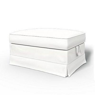 BEMZ - Housse de repose-pieds-BEMZ-Absolute White Panama Cotton