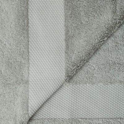 Cosyforyou - Serviette de toilette-Cosyforyou-Serviette coton égyptien gris