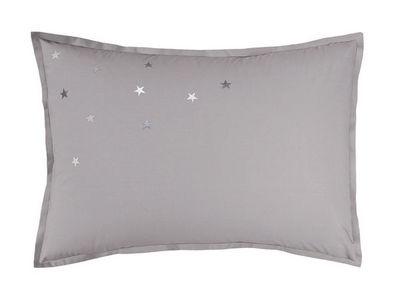 BLANC CERISE - Taie d'oreiller-BLANC CERISE-Taie d'oreiller rectangulaire - percale (80 fils/