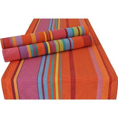 Les Toiles Du Soleil - Set de table-Les Toiles Du Soleil-Double set de table BONBONS PLUME CAPUCINE