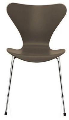 Arne Jacobsen - Chaise-Arne Jacobsen-Chaise Sries 7 Arne Jacobsen 3107 Bois structur Ch