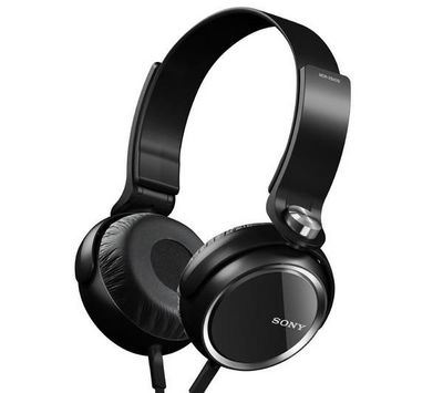 SONY - Casque-SONY-Casque MDR-XB400 - noir