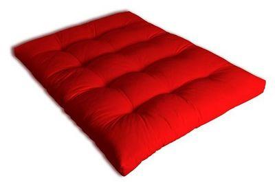 Futon Design - Matelas à ressorts-Futon Design-Matelas 140 x 190 cm FUTON Rouge