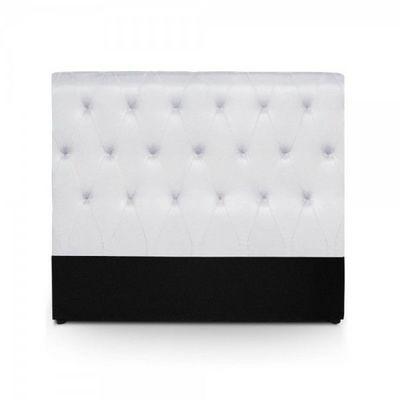 WHITE LABEL - Tête de lit-WHITE LABEL-Tête de lit Resla - Blanc