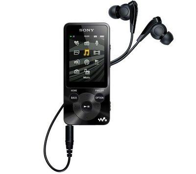 SONY - MP3-SONY-NWZ-E585 noir - 16 Go - Lecteur MP3