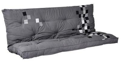 Futon Design - Matelas banquette BZ-Futon Design-Matelas-futon PIXEL Gris dos eveloppant 135 x 190