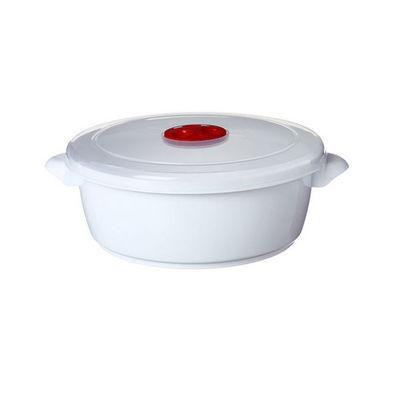WHITE LABEL - Cocotte-WHITE LABEL-Cocotte spéciale micro-ondes avec soupapes vapeur